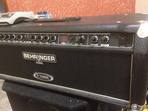 cabeçote behringer v-tone gmx1200h para guitarra troco