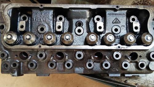 cabeçote completo motor perkins 4236 q20b d10 d20