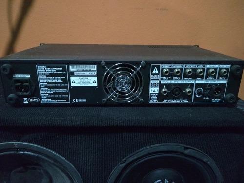 cabeçote contrabaixo bvp5500 bugera usado com cx410 e cx115