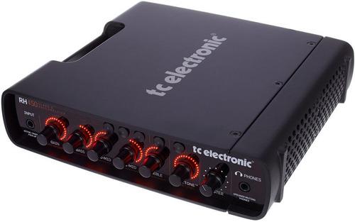 cabeçote de amplificador para baixo tc electronic rh450 *