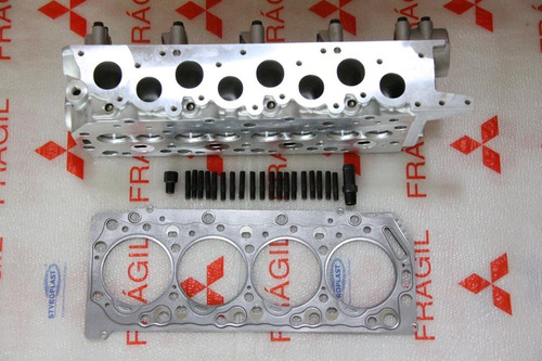 cabeçote e junta  l200 sport/pajero sport motor 2.5 4d56