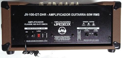cabeçote guitarra 60wrms canal clean,driver e reverb