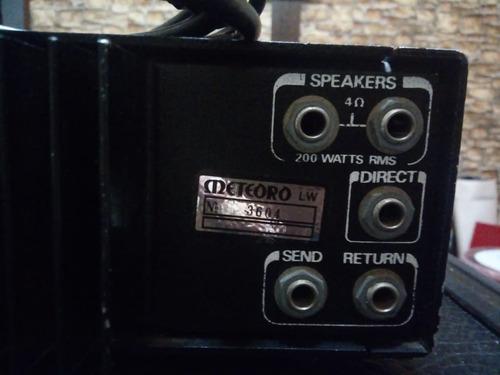 cabeçote meteoro mb-400 e caixa 115-bs oportunidade!!!
