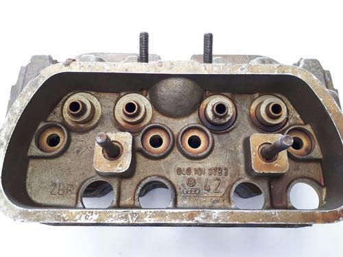 cabeçote motor fusca 1300 alcool original vw 0401013733