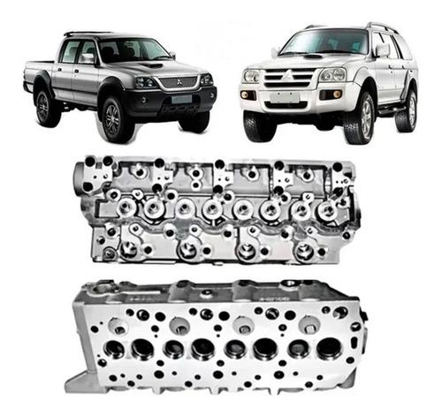 cabeçote motor l200 pajero gl gls hpe sport 2.5 1998 a 2012