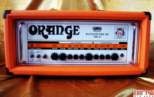 cabeçote orange rockerverb 100 mk ii divo fitted