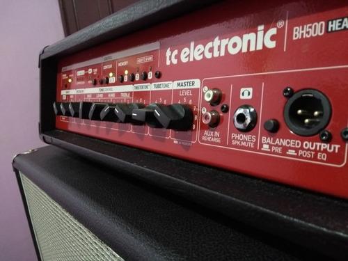 cabeçote para baixo tc electronic bh500 - troco