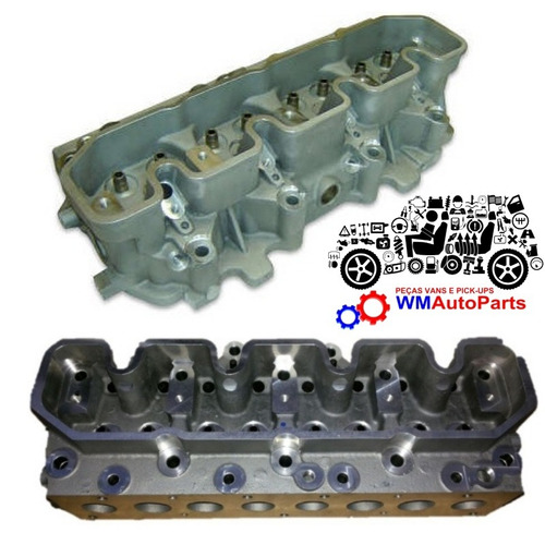 cabeçote ranger 2.5 diesel novo wm auto parts - frete grátis