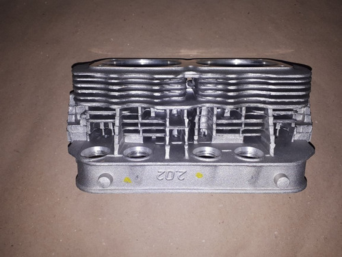 cabeçote vw kombi / fusca 1600 84/... alc/gas refrig.