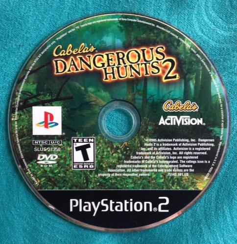 cabelas dangerous hunts 2 / playstation 2 ps2