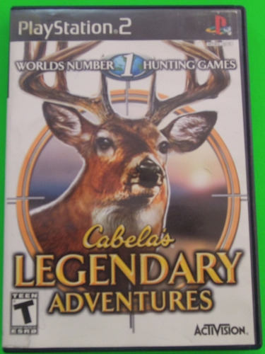 cabelas legendary adventures para playstation 2