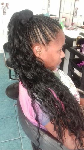 cabeleireira afro especialistas em tranças. atendendo