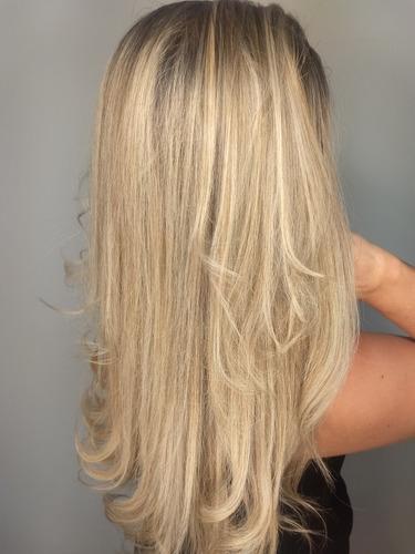 cabeleireira loiro do sonhos