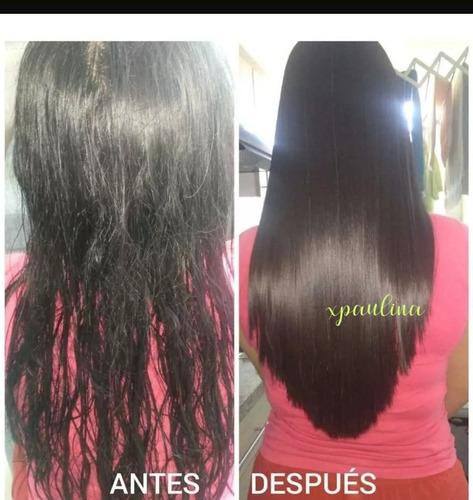 cabello hermoso y recuperado