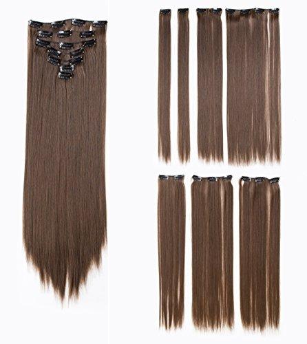 cabello liso sintetico de mujer de 22 pulgadas swacc