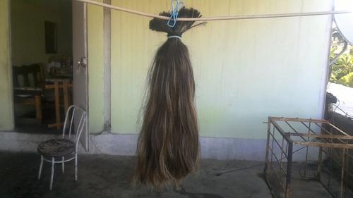 cabello para extensiones 38 centimetros