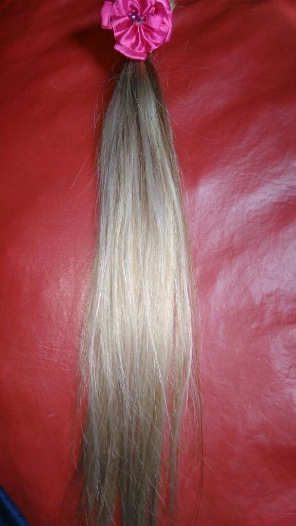 cabello rubio natural d 45cm x 50 unid. Cargando zoom. 570f692c7015