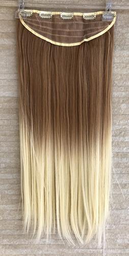 cabelo alongamento aplique tic tac 60cm cor 22/613# japonesa