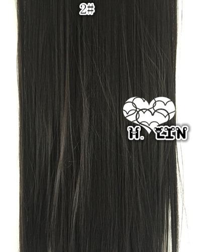 cabelo alongamento aplique tic tac fibra organico 60cm 4a