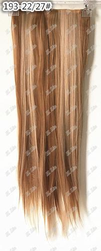 cabelo aplique tic tac 75cm luzes mechas 22/27# frete gratis