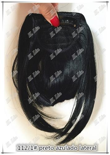 cabelo franja fibra organico tic tac cor 1 preta cor 118 ver