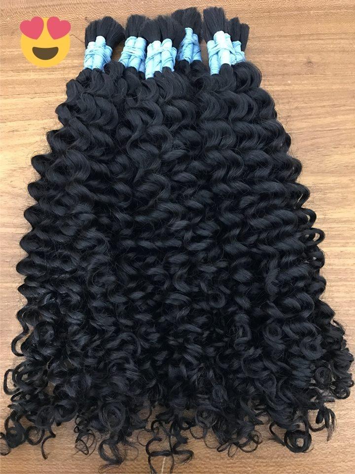 a670a3441 cabelo humano cacheado indiano castanho 55 cm - 50 gramas. Carregando zoom.
