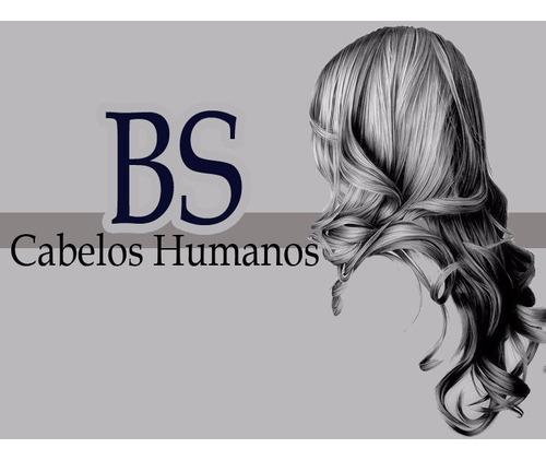 cabelo humano cacheado natural 70-75cm 100gramas sem quimica