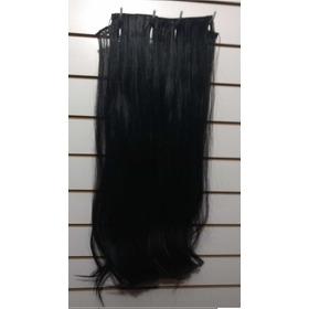 Cabelo Humano Liso Natural Em Tela Com 60cm 50gr Mega Hair