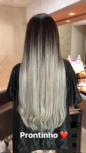 cabelo humano loiro natural