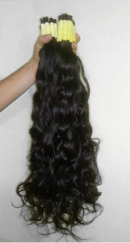 cabelo humano natural 50 a 55cm 100 gramas ( cabelo virgem )