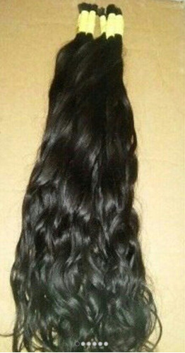 cabelo humano natural 70 a 75 cm 150gramas ( cabelo virgem )