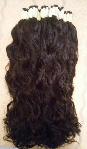 cabelo humano natural 75 a 80cm 200gramas ( cabelo virgem )