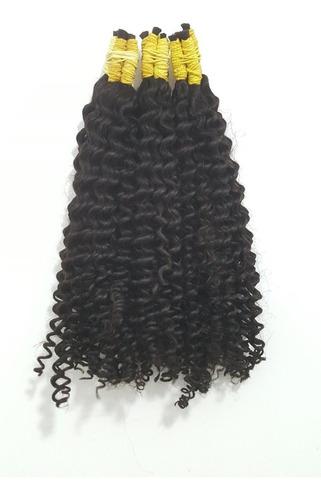 cabelo humano permanente a vapor 100 gr de 60cm