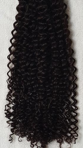 cabelo humano permanente a vapor cacho nº 2 de 60cm 50 gr.