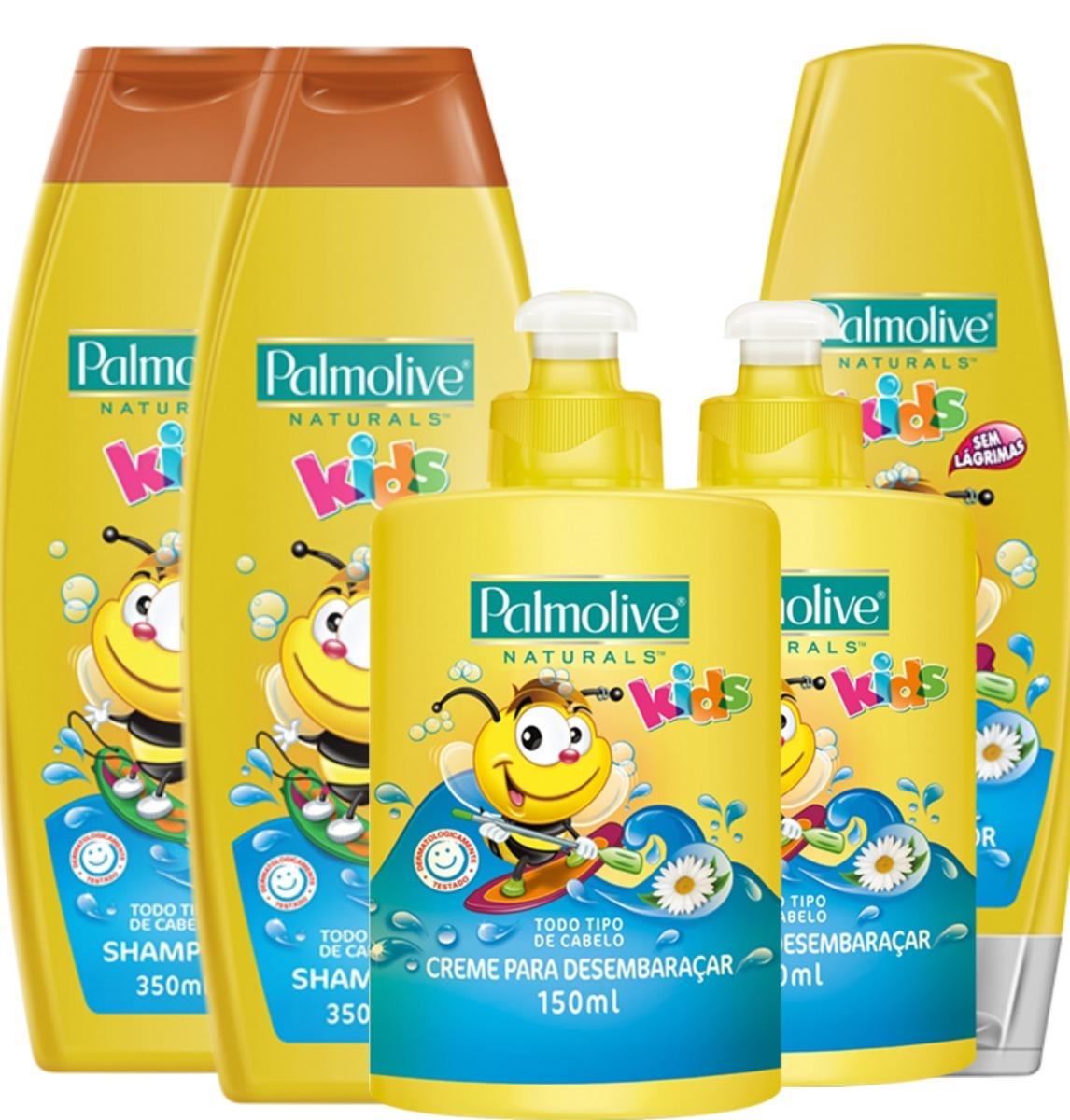 8a65b09e9 cabelo infantil palmolive kids completo + 02 produtos. Carregando zoom.