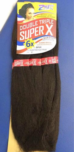cabelo jumbo importado p/tranças braid