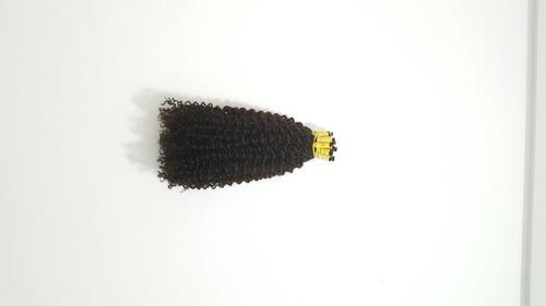 cabelo mega hair cacheado a vapor 50 cm 50 gramas.