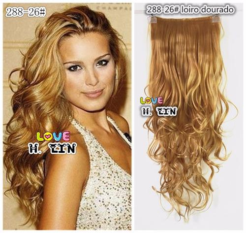 cabelo repicado 130 gra tic tac 288 frete gratis 75cm cor 26