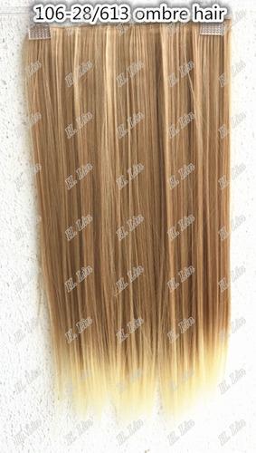 cabelo tic tac 28/613 ombre hair californiana loiro 60cm org