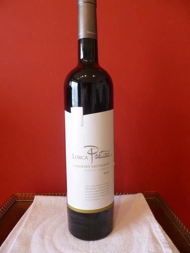 cabernet sauvignon vino