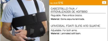Cabestrillo Faja - Inmovilizador De Hombro Ptm - Universal -   620 ... 73a51e078758