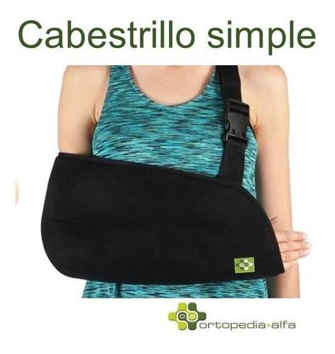 cabestrillo sostén para lesiones en brazo hombro