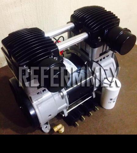 cabeza de compresor libre de aceite 2 hp garantia 1año