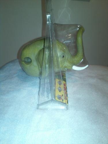 cabeza de elefante para monopatines,bicicletas o decorar