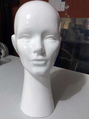 cabeza de maniqui