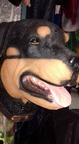 cabeza de perro roywayler de resina