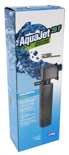 cabeza de poder con filtro rapido aqua-jet 20
