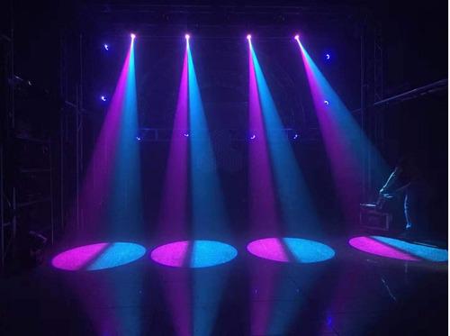 cabeza mini led spot 30 w, glowing garantia / abregoaudio
