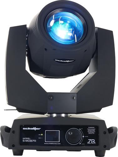 cabeza movil 200w 5r beam light touch screen gobos con case