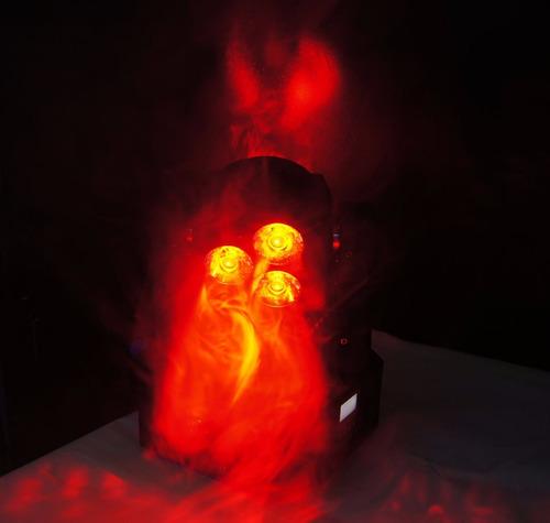 cabeza robotica doble de 4 jumboleds profesional colores rgb
